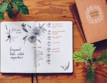 Bullet Journal weekly - reaktionista.se