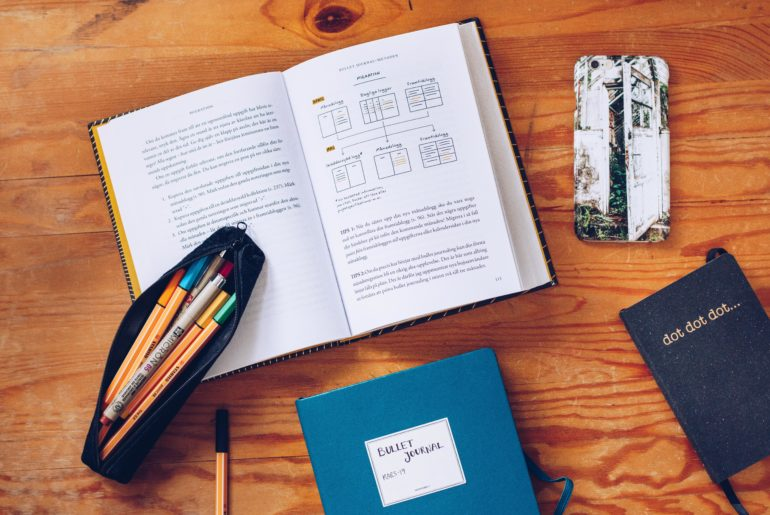 Bullet Journal planering - reaktionista.se